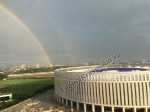 Как выглядит новый стадион ФК Краснодар в июне 2016