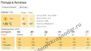 почему гисметео погода анталия на 30 дней кипрской кухне уделяется